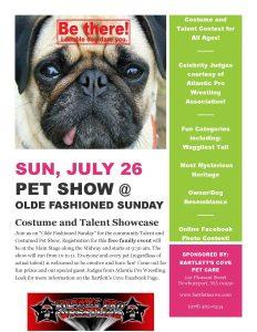 Pet Show Flyer-2015